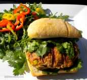 Asian-Spiced Turkey Burger